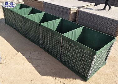 China Galfan Coated MIL 7 HESCO Bastion used for Homemade Defense in Somalia supplier