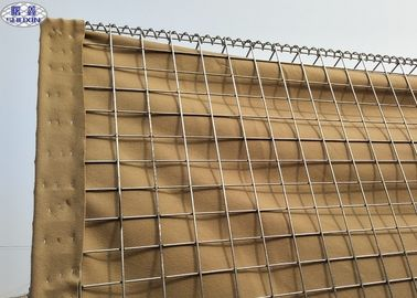 China Welded Wire Mesh Military Hesco Defensive Barriers With Geotextile Cloth supplier