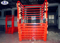 Truck Tyre Storage Rack Pallet Heavy Duty Metal Steel Fixed / Removable