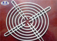 China 90mm Welded Fan Grill Cover , Wire Mesh Protection Cooling Fan Guard Grill factory