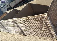 China Anti Blast Wall Welded Wire Mesh , Hesco Barrier Wall For River Flood Protection factory