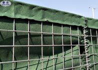Good Quality Wire Mesh Pallet Cages & Flood Control Sand Filled Barriers High Tensile Hesco Bastion Wall on sale