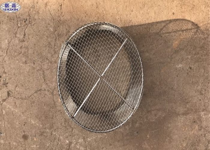 Round Stainless Steel Wire Mesh Baskets , 304 Stainless Steel Mesh ...