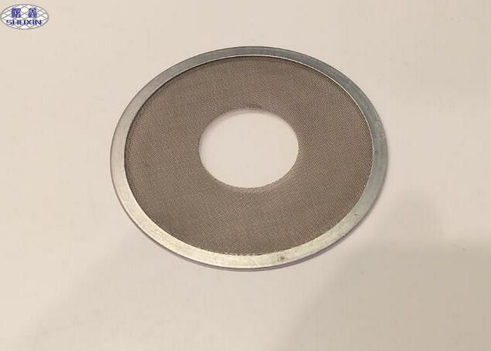 304 Stainless Steel Filter Disc , Microns Porous Woven Wire Mesh ...