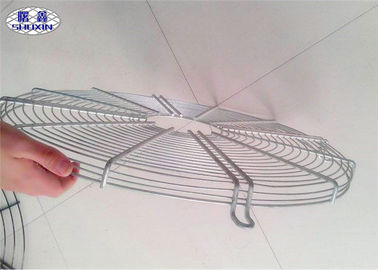 Stainless Steel Ceiling Fan Guard Industrial Net Cover In White Color
