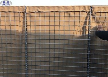 Army Sand Filled Barriers Welded Wire Mesh Box 75mm x 75mm 76.2 x 76.2mm