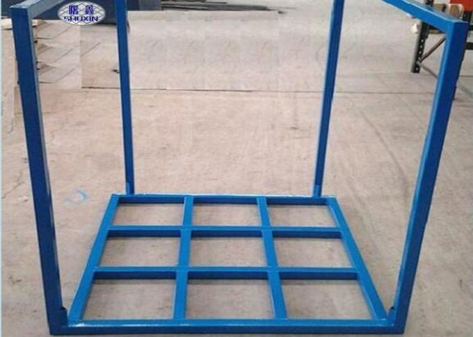 Industrial Moveable Metal Stacking Racks For Warehouse Material Logistic