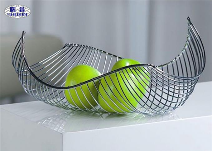 Boat Shape Fruit And Vegetable Baskets Decorative Anti - Rust Container