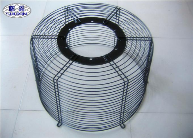 Safety Steel Fan Grill Cover Circle Guard ISO Approved For Spray ...