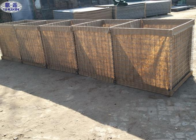 Army Defensive and Protection Military Hesco Barriers Galvanized Coated